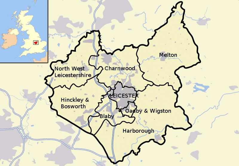 map leicester locksmiths