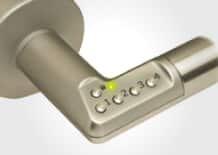 coded door handle security